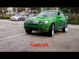 C2c customs- slime green bmw x3 on 26 forgiato grassetto 954-327-1900 paint by sudamar