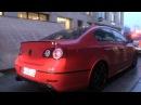 VW Passat R36 w/ Bull-X Exhaust - Revs and LOUD Accelerations