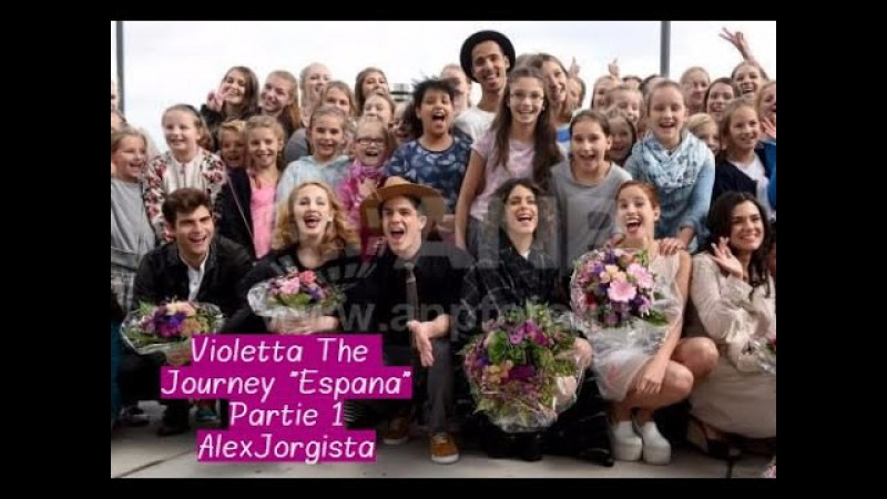 Violetta The Journey Espana Partie1 (Martina Stoessel ;Jorge Blanco)