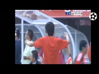 Worst own goal in football history. Chinese Football Fail