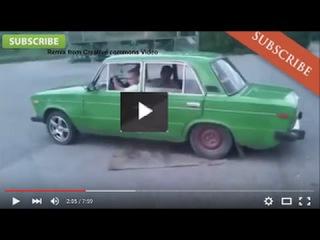Video Lucu Banget Kompilasi, mobil lucu. Motor Mobil Kecelakaan