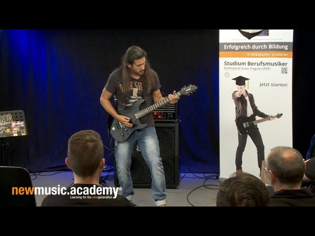 Victor Smolski Masterclass New Music Academy 2016