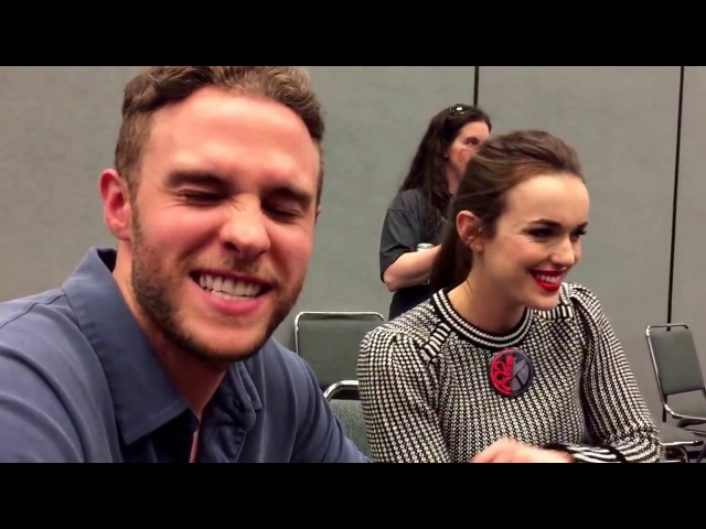 Elizabeth Henstridge and Iain De Caestecker for Agents of SHIELD at Wondercon 2017