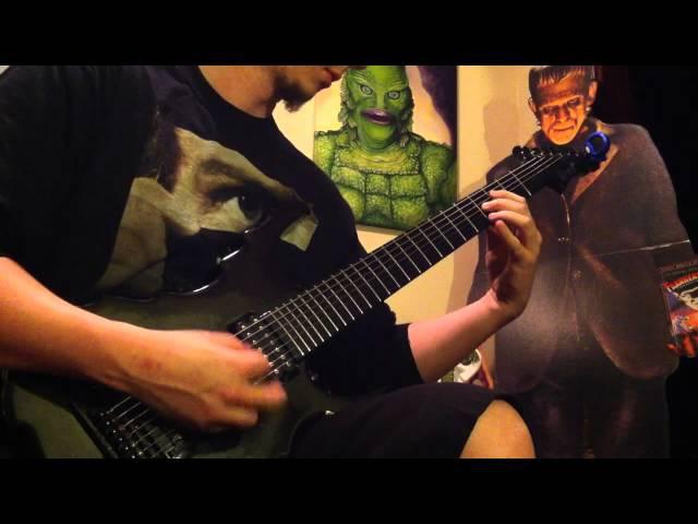 Deeds of Flesh Hollow Human Husks Guitar Play Through Craig Peters