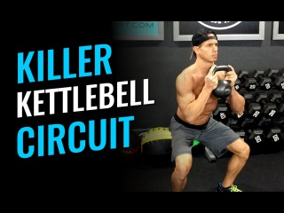 Killer Kettlebell Circuit - Workout Of The Day killer kettlebell circuit - workout of the day