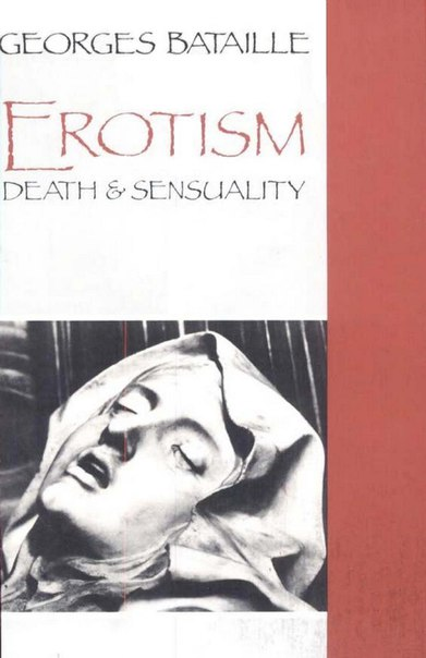 Bataille Georges Erotism Death and Sensuality