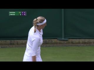 Petra Kvitova vs Sorana Cirstea (2016 Wimbledon - 1st Round)