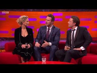 The Graham Norton Show 20x09 - Jennifer Lawrence, Chris Pratt, Jamie Oliver,  & Emeli Sande