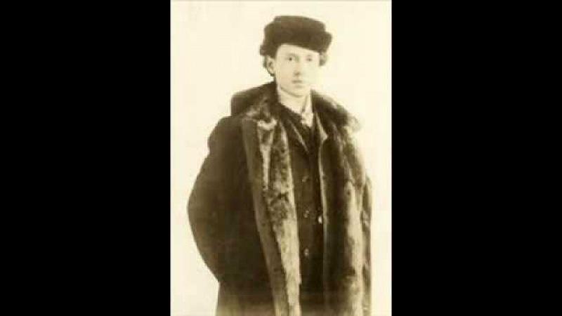 Ossip Gabrilowitsch plays Leschetizky Octave Etude