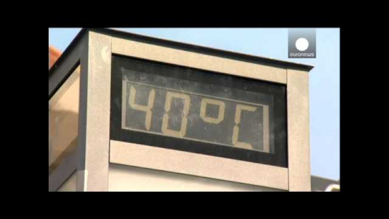 Сахарская жара в Европе