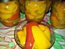 Маринованный сладкий перец с медом и маслом Консервация на зиму