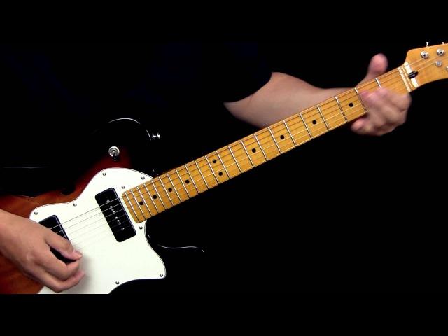 Fender Modern Player Tele Thinline Deluxe Demo