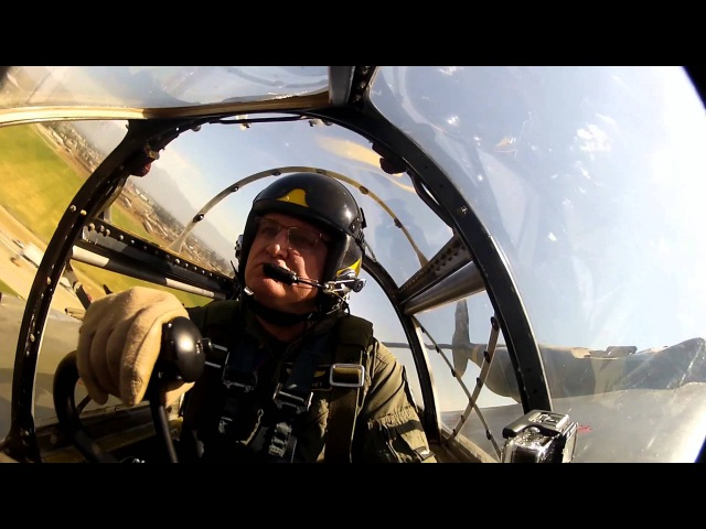 Flying the P 38 with Chris Fahey