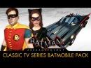 Batman Arkham Knight 1960s TV Series Batmobile Pack Race Tracks Free Roam Gameplay
