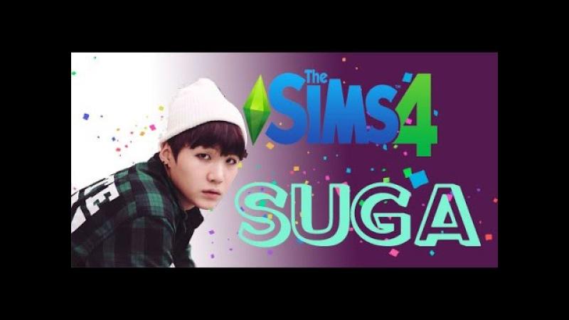 SIMS 4 BTS Min Yoon Gi Suga