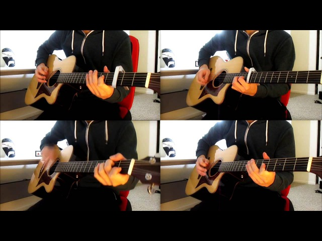 Tokyo Ghoul √A ED 季節は次々死んでいく Seasons Die One After Another Acoustic guitar cover