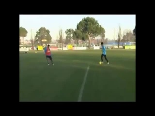 A young Coutinho scores a sublime solo goal at Inter training, three years ago.