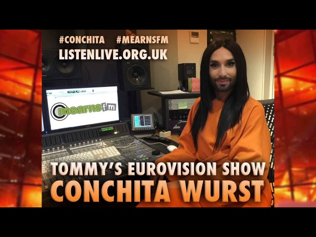 Conchita Wurst (Tommys Euro Show, Mearns FM, UK, 20.10.2015)