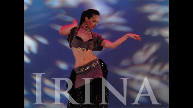 Irina Akulenko from Tribal Fusion Bellydance Workout DVD video World Dance New York
