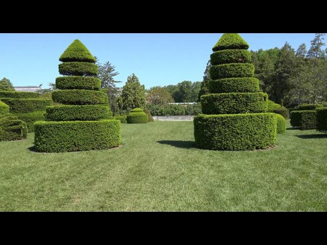Сады Лонгвуда, штат Пенсильвания, США в 4К Ultra HD
