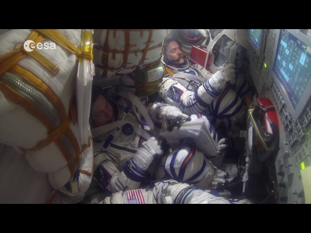 Soyuz undocking reentry and landing explained