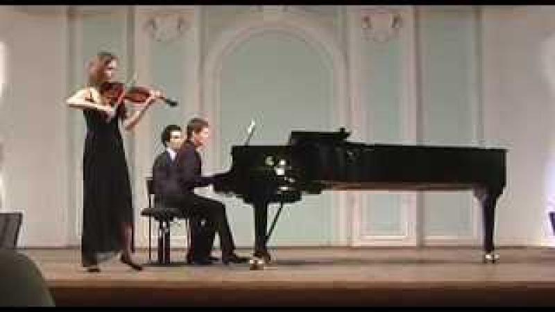 Брамс Созерцание и Скерцо Polina Shupilova