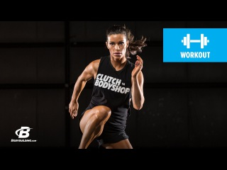 At Home Cardio and Core Workout | Clutch Life: Ashley Conrad's 24/7 Fitness Trainer