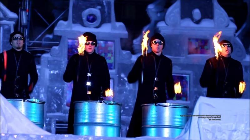 Барабанное шоу Drumatical theatre Голландия Австрия эспланада Пермь январь 2013
