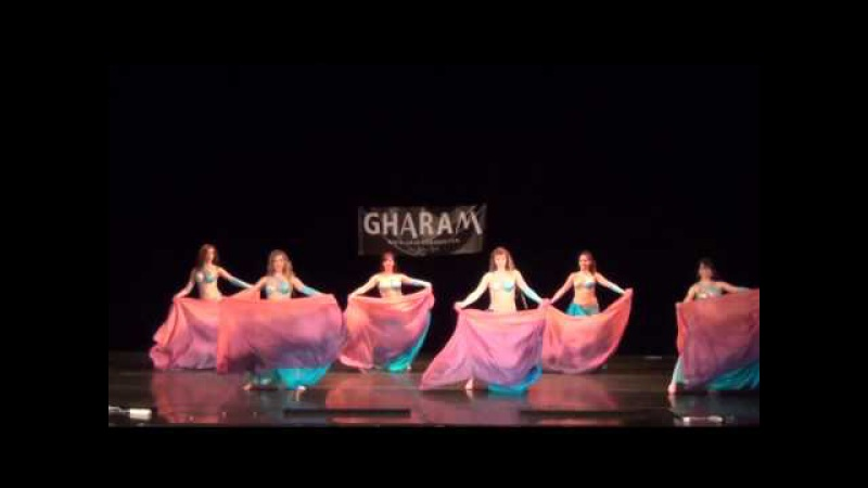 Doble Veil D'Ambra Dance Company Gharam 2015