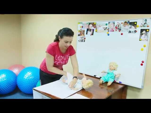 Пеленание новорожденного Как пеленать ребенка