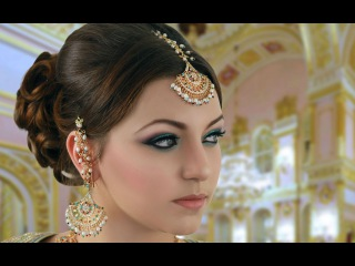 Turquoise and Pink Indian Bridal Makeup Tutorial - Asian / Pakistani / Arabic - Traditional Look