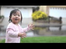 Счастье! Ребенок первый раз в жизни видит дождь! Kayden Rain