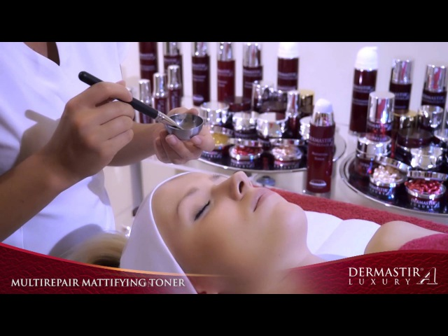 GT004TV Dermastir Multirepair Mattifying Toner Treatment