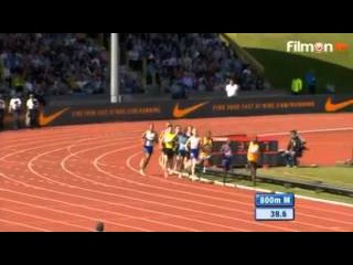 Men's 800m IAAF Diamond League Athletics - Birmingham 2015