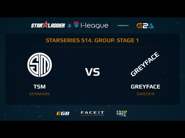 TSM vs GreyFace - Map 2 - Dust 2 1 (SL i-League StarSeries XIV)