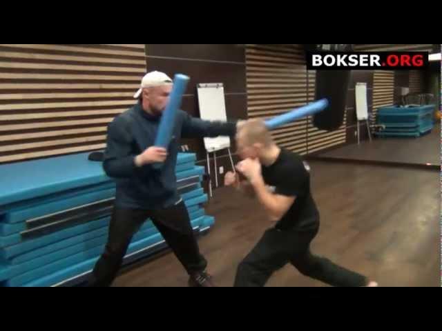 Kamil Łaszczyk trening z Piotrem Wilczewskim