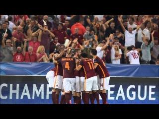 Il gol di Florenzi al Barcellona - Remix | ROMA RADIO