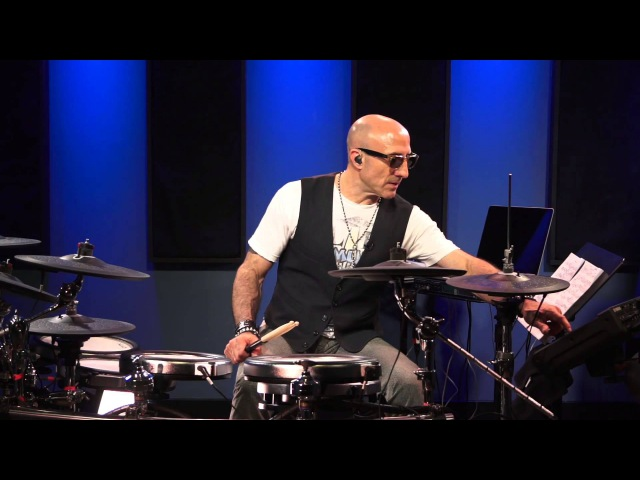 Kenny Aronoff Functional Practicing - Drumeo Edge (Yamaha DTX Drums)