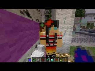 Minecraft- ДЕВУШКИ В MINECRAFT- (Бикини Любовь Драки и тд) Обзор модов