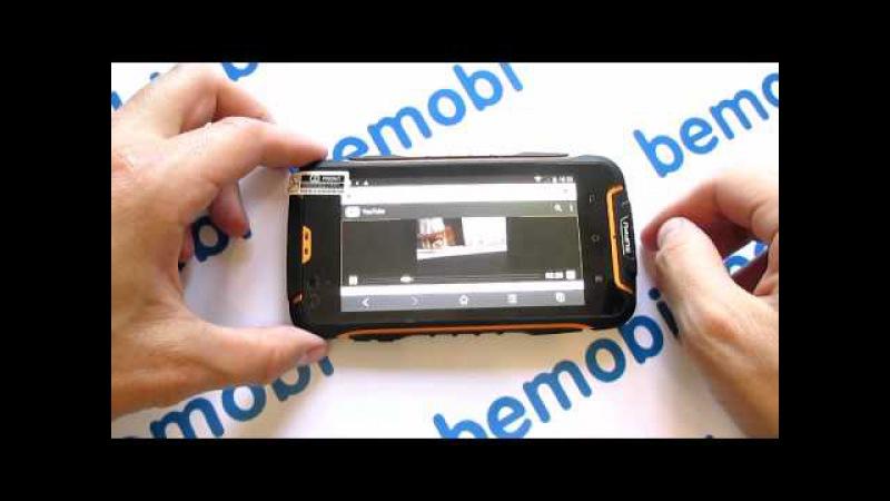 Видео обзор Suppu F6 MTK6582 защищенный смартфон