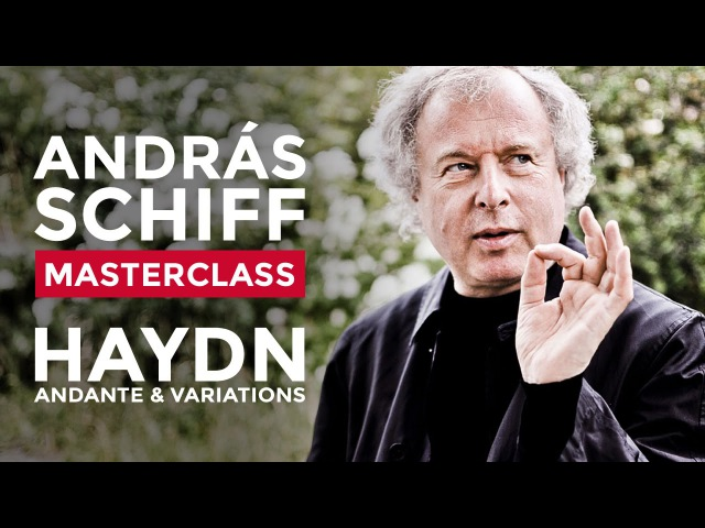 Sir András Schiff Piano Masterclass at the RCM Alexander Ullman