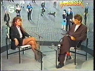 Sandra interview (tele 5 hamburger journal, ) germany