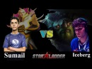 ProMidBattle Sumail Invoker vs Iceberg Tiny Evil Geniuses vs Team Spirit StarLadder