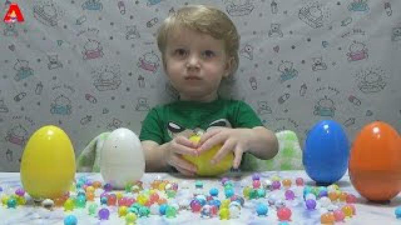 Много слизюки с сюрпризами и шарики Орбиз Many surprises and mucus balls Orbiz