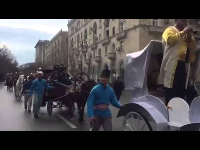 Bakıda İlaxır çərşənbə bayramı 2016 Новруз Азербайджан