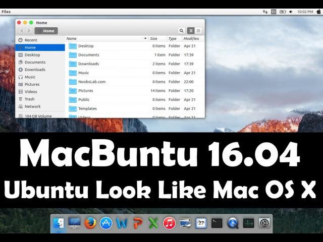 Macbuntu 16.04 Transformation Pack Available for Ubuntu 16.04 Xenial Xerus