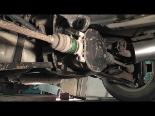 Мазда Трибьют: ремонт и обслуживание - Замена подушек дифферинциала