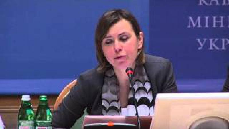 Зустріч директора Урядового офісу з питань європейської інтеграції Наталія Гнидюк з громадськістю