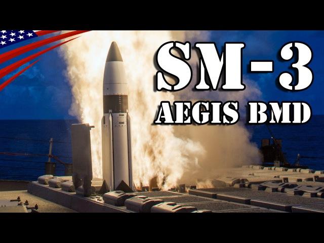 SM 3 Missile Launch from Aegis Ballistic Missile Defense Destroyer イージス艦から発射されるSM 3弾道弾迎撃ミサイル