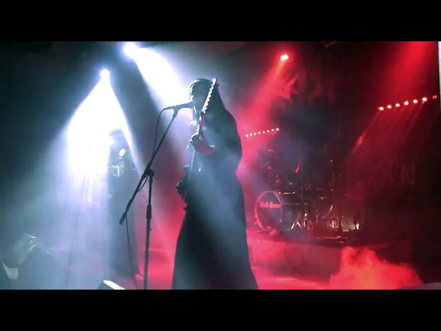 BLACKTHORN DEATH OF LOVE Cradle of Filth cover LIVE